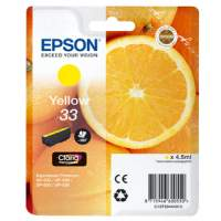 Epson 33 Yellow cartridge