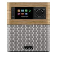Sonoro Stream SO-410 Internet radio wit/esdoorn