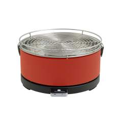 Feuerdesign Mayon rood barbecue