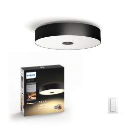 Philips Fair Hue ceiling lamp black 1x39W 24V