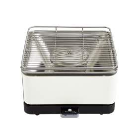 Feuerdesign Teide Wit/Creme Barbecue