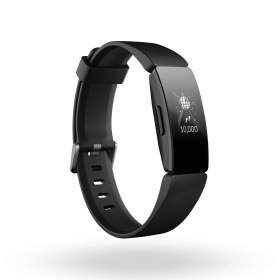 Firbit Inspire HR activity tracker zwart