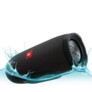 JBL Charge 3 Black Bluetooth speaker