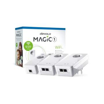 Devolo Magic 1 WiFi Network Kit 3 stuks