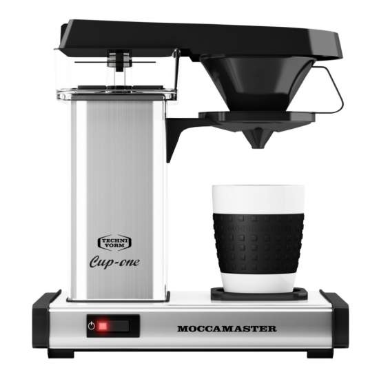 Moccamaster Cup One RVS Polished Koffiezetapparaat
