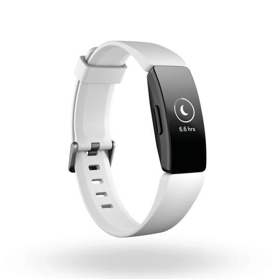 Firbit Inspire HR activity tracker zwartwit